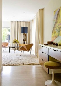 mid-century-modern-furntiure-design-solid-wood-dressing-table-armchairs